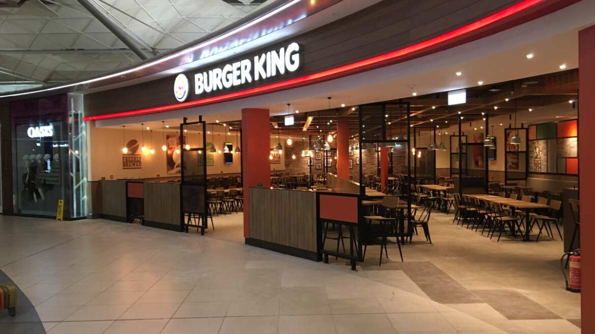 Burger King – Stansted Airport