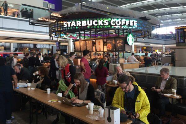 Starbucks – T5 Heathrow Airport