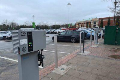 EV Charging – Polestar Trafford Centre